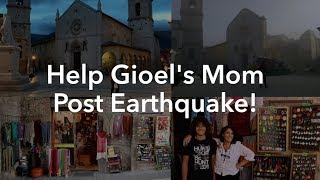 #HelpGioelsMom Open A New Shop Post-Earthquake