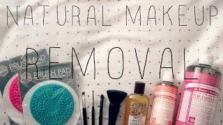 Natural Makeup Removal: Face + Brushes Thumbnail
