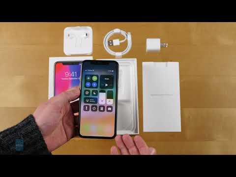 Apple IPhone X Unboxing