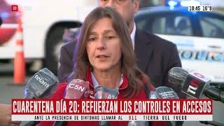 """Habla la ministra de Seguridad Sabina Frederic: """"Vamos a ampliar los controles"""""""