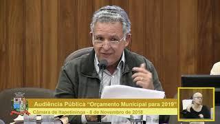 Audiência Pública - PPA e LDO 2019