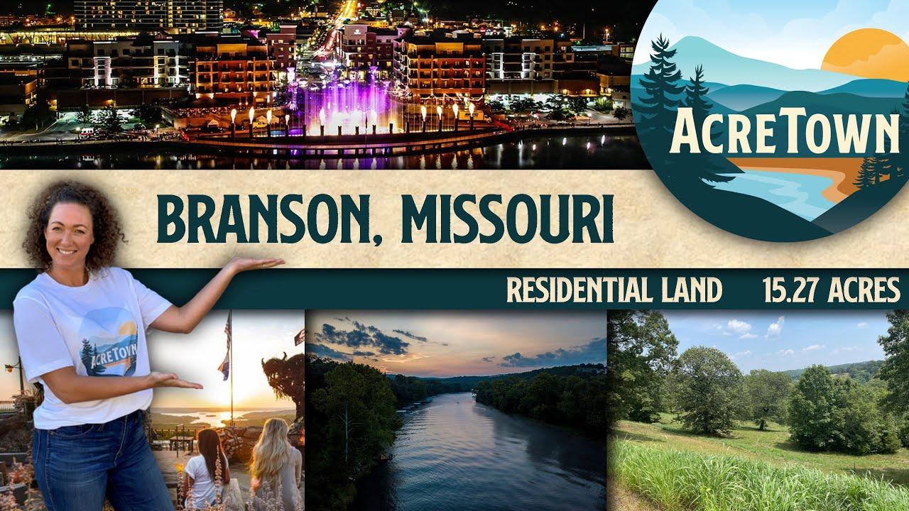 Cheap Land near Branson Missouri | 15.3 acres | Beautiful & Exclusive Area | 5 mins to Busiek Forest