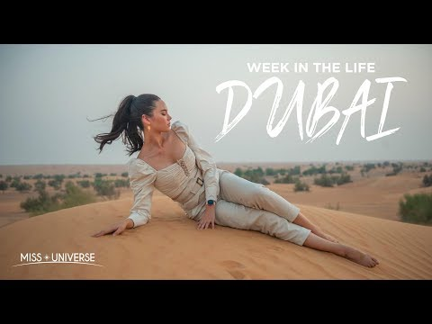 WEEK IN THE LIFE: Miss Universe Catriona Gray's First Trip To Dubai