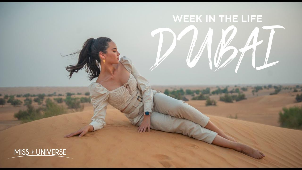 Miss Universe Catriona Gray's First Trip To Dubai | Week in the Life Vlog