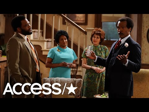 Jamie Foxx Tripped Up One Of His 'All In The Family' Lines & The Result Was Hilarious! | Access