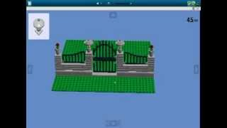 How To Build A Lego Fence With Gate