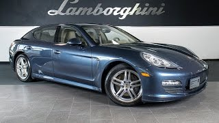 2013 Porsche Panamera Medium Blue Metallic LC309