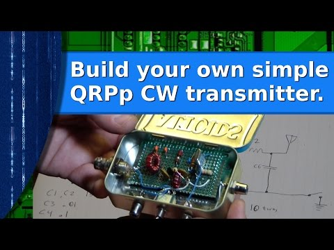 Ham Radio - Build your own QRPp CW transmitter