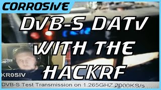 Digital Amateur TV DVB-S with HackRF and Satellite Reciever