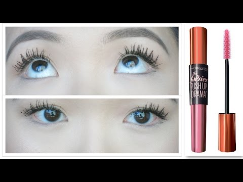 2f5df795749 Maybelline The Falsies Push Up Drama Mascara Waterproof ♡ Demo & First  Impression - YouTube