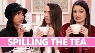 SAVAGE SQUAD'S MOST SAVAGE MOMENT?! | Tea Time w/ Teala Dunn & Merrell Twins