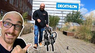 TILT 500 vélo électrique pliant léger décathlon velo electrique leger avis test essai route pliable