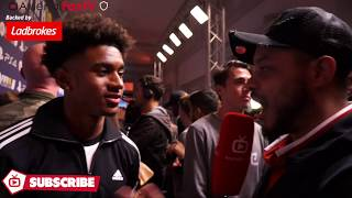 Reiss Nelson Talks About His Arsenal Debut With Troopz | FIFA 18 Launch Party