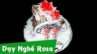Trang trí Bánh Kem Giáng Sinh (Noel) - Christmas Cake
