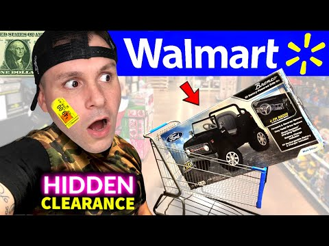 Oops! … I found it again → Walmart HIDDEN Clearance Shopping (no coupons!) Secret $1 Deals & Tips