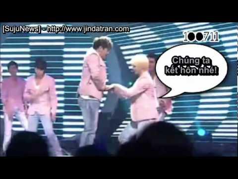 [Vietsub] Super Junior rất tinh nghịch trên sân khấu - part 8