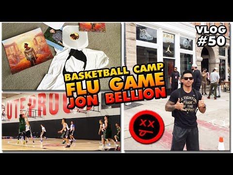 VLOG #50: Basketball Camp   Flu Game   Jon Bellion