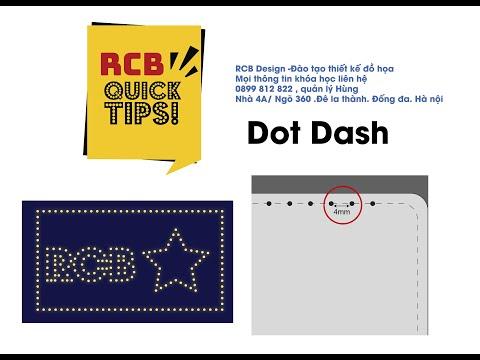 Hướng Dẫn Tạo dot (hạt) chính xác khoảng cách trong Adobe Illustrator (design led)