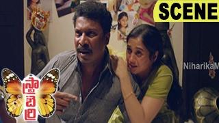 Malloori Attacks Vijay And Arrests Anu Soul - Emotional Thriller - Strawberry Movie Scenes