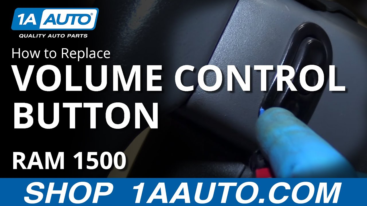hight resolution of how to install replace steering wheel mounted volume control 2008 dodge ram buy parts at 1aauto com