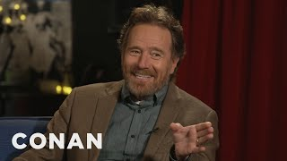#CONAN: Bryan Cranston Full Interview - CONAN on TBS