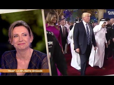 Trump : la diplomatie dérangée - Déshabillons-les (10/06/2017)