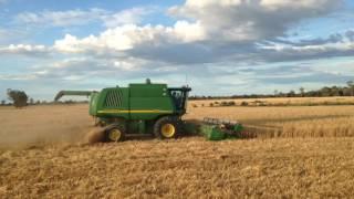 """Harvest Backpackers in Australia Farm Job  """"harvest time"""" part 2"""