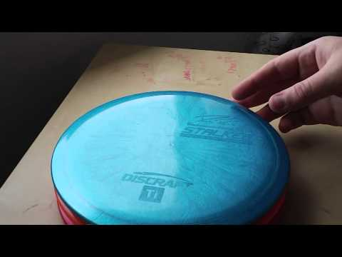 Disc golf disc Review: Discraft Paige Pierce Titanium Stalker, Z and Cryztal Disc Golf Nerd