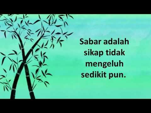Kata Bijak tentang Sabar