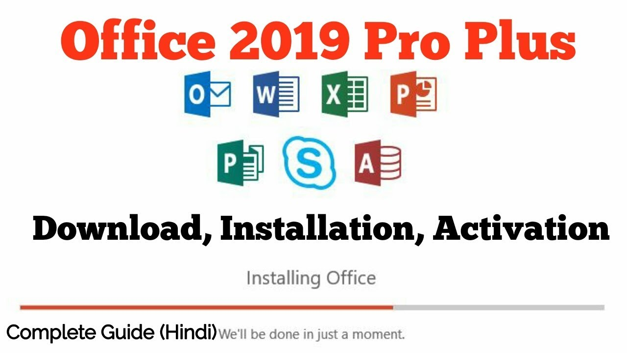 How To Download And Activate Ms Office 2019 Youtube