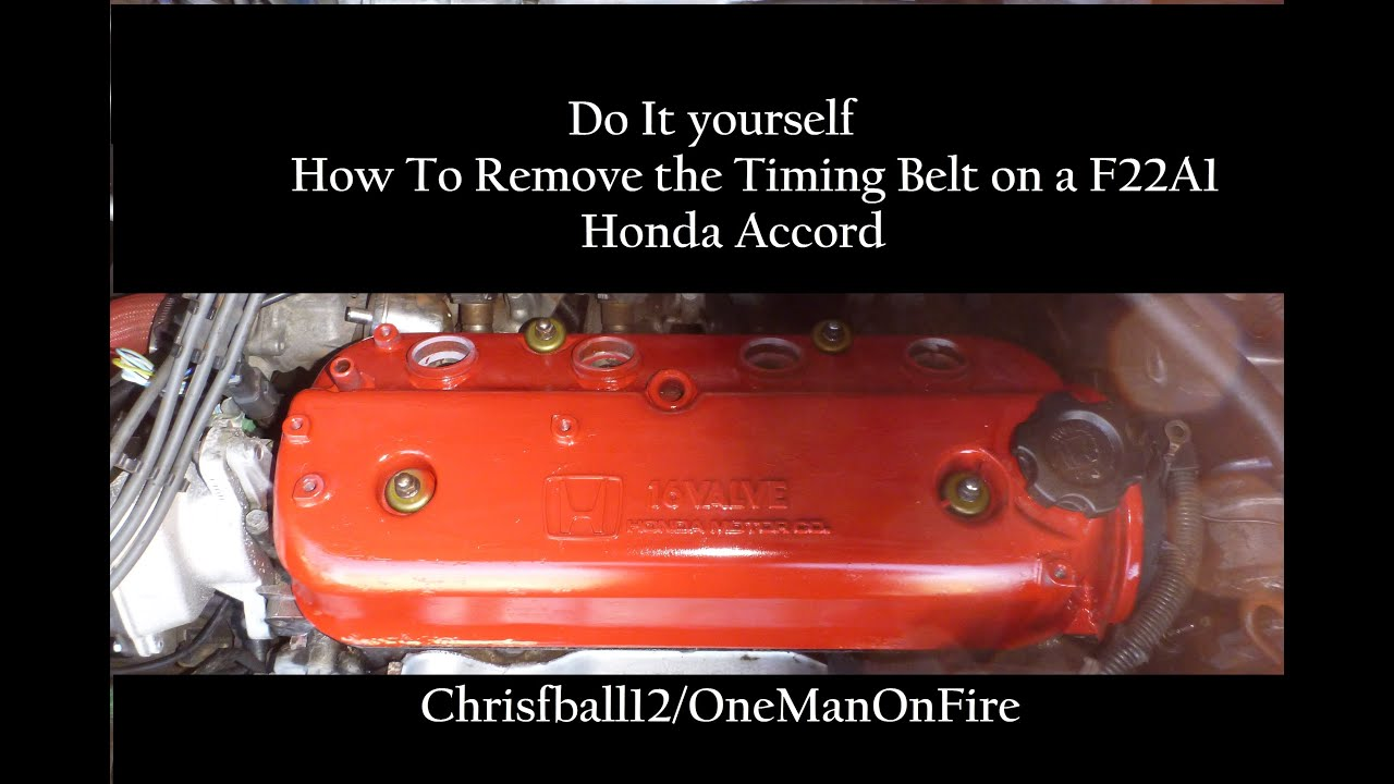 Honda Accord F22A1 How to Remove Timing Belt - YouTube on 91 ranger wiring diagram, 91 accord thermostat replacement, 91 mustang wiring diagram, 91 accord clutch, 91 miata wiring diagram, 91 s10 wiring diagram, 91 accord ignition system, 91 accord fuel pump replacement, 91 accord firing order, 91 mr2 wiring diagram, 1991 honda accord vacuum hose diagram, 91 accord ecu location, 91 accord brake, 1991 honda accord engine diagram, 91 crx si wiring diagram, 91 explorer wiring diagram, 91 accord exhaust system, 91 civic wiring diagram, 91 wrangler wiring diagram, 91 camaro wiring diagram,