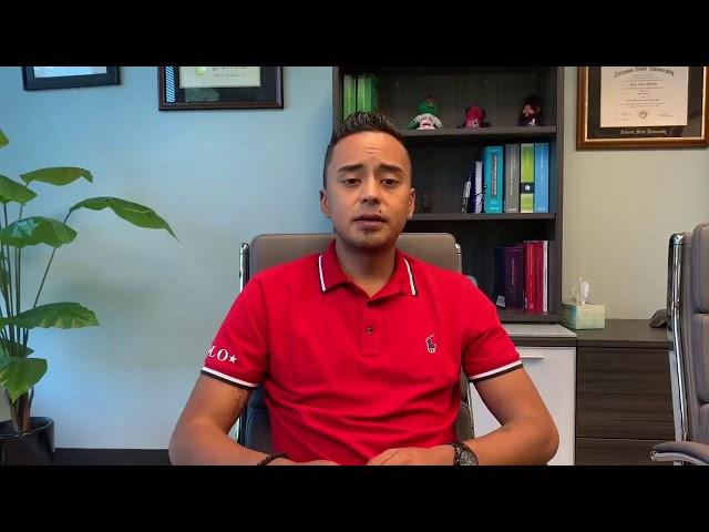 El accidente de carro de Manuel Pinto y su experiencia con el Abogado Virguez.