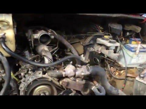 Форд Транзит 2.5 дизель черный дым