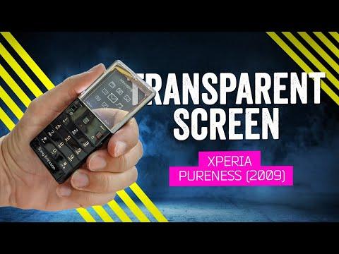When Phones Were Fun: Sony Ericsson Xperia Pureness (2009)