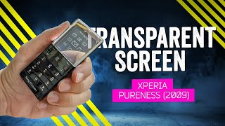 When Phones Were Fun: Sony Ericsson Xperia Pureness (2009)