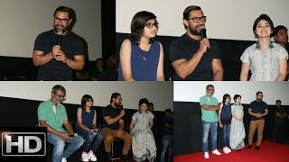 UNCUT: Aamir Khan With His Onscreen Daughters Launch Haanikaarak Bapu Song From Dangal