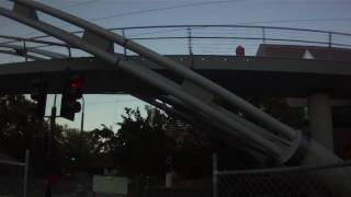 Iron Horse Trail Over Crossing Bicycle Bridge Under Construction Walnut Creek Contourhd 1080p
