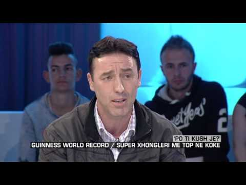 Zone e lire - Po ti kush je?' Guiness world record/Super xhongleri me top ne koke! (24 mars 2017)