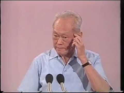 LKY at NUS : Change & Continuity - 1990, just before he stepped down as PM