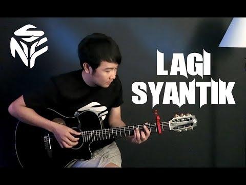 (Siti Badriah) Lagi Syantik - Nathan Fingerstyle | Guitar Cover | Guidrum NFS