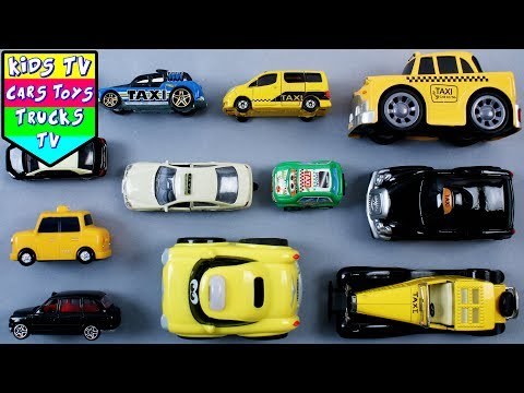 Learn London Transport Vehicles For Kids Children Babies Toddlers | London Taxi For Kids | Kids TV