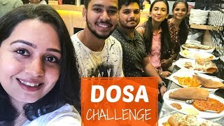 DOSA CHALLENGE (FAIL!!) | RAJNIKHANT DOSA MUMBAI