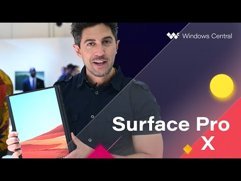 Hands-on with the Microsoft Surface Pro X