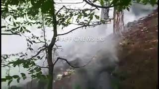 В епицентъра на пожара над Карлово