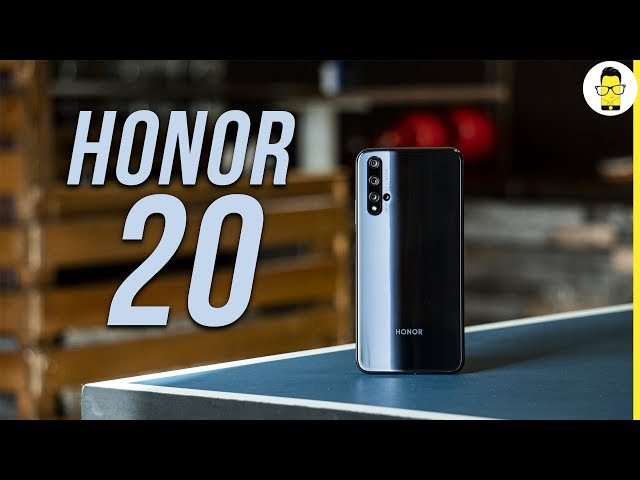 Honor 20 Unboxing and Hands-on review