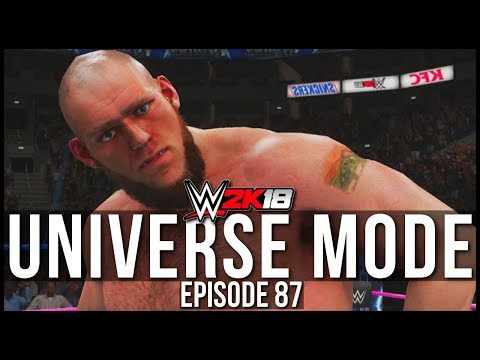 WWE 2K18 | Universe Mode - 'NO MERCY PPV!' (PART 1/2) | #87