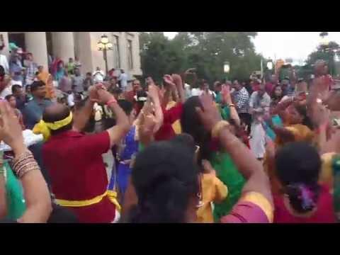 2016 FeTNA Kummi Paatu by amazing Tamil People