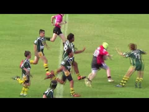 Camden Haven Eagles Under 13's V's Forster Tuncurry Hawkes 2017 second half