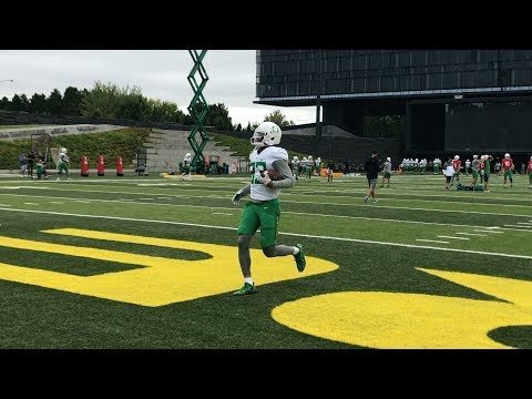 Oregon Ducks football: Sights and sounds from Aug. 30 practice