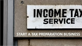 Canadian Personal Tax Returns  Starting your own tax preparation business
